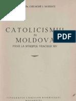 Catolicismul in Moldova Pana La Sfarsitul Veacului XIV