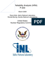 ML12044A208 Human Reliability Analysis (HRA) Nrc TRAINING DOC
