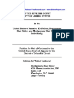 Montgomery Sibley Petition for Writ of Certiorari - United States Supreme Court - 3/28/2012