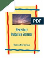 16660182 Elementary Bulgarian Grammar