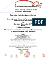 Holiday Open House Press Release