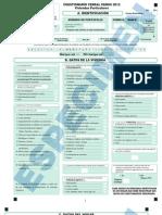 Censo para viviendas particulares