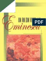 Georgescu, Nicolae - Un an din viata lui Eminescu