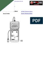 Extech 407860 Vibration Tester
