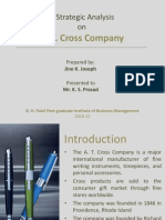 A.T.cross Company