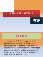 401 Cellular Systems