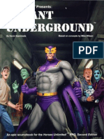 Heroes Unlimited 2nd Ed - Mutant Underground