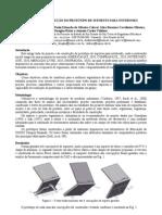 Projeto e Construção do Protótipo de Suportes para Notebooks
