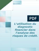 l'Utilisation Du Diagnostic Financier Dans l'Analyse Des Risques de Credit