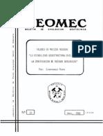 031-1982 Taludes en Macizos Rocosos. La Estabilidad Geoestructural en El Marco de La Zonificacion de Riesgos Geologicos