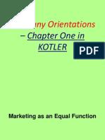 Company Orientations