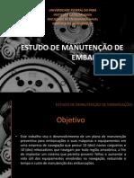 ESTUDO DE MANUTENÇÃO DE EMBARCAÇÕES