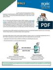 Antimicrobials; Fact Sheet