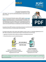 Antimicrobials; Fact Sheet