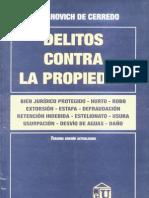 Delitos Contra La Propiedad - Laura Damianovich