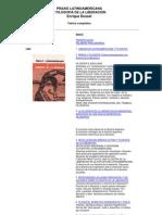 [Enrique Dussel] Praxis Latinoamericana y Filosofía de la Liberación