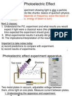 Photoelectric Effect Lecture Notes