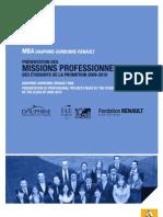 Livret Prof Mba 2009-2010