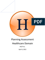 Healthcare Assessment