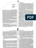 Poststructuralism, Marginality Ch 11 CPT