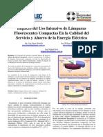Impacto Del Uso Intensivo de LFCs en La Calidad Del Servicio y Ahorro de La Energia Electrica EDC Venezuela 2008