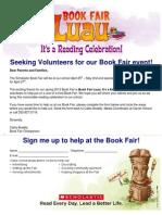 3.8 Book Fair Parent-community Volunteers