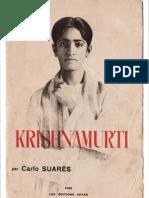 Krishnamurti, par Carlo Suarès