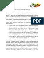 Método Votación de Directiva CEPS en Consejo de Federación