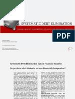 eBOOKSSystematic Debt Elimination 1-13-12