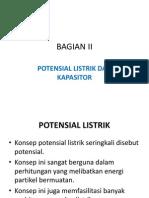 2 Potensial Listrik Dan Kapasitor