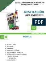 JUEVES PM - Destilación