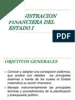 Administración Financiera del Estado I