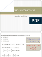 PROGRESSOES GEOMÉTRICAS - Questoes Resolvidas