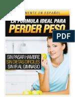 La Formula Ideal Para Perder Peso