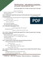 2012 - Một số câu hỏi  - trả lời về hóa học 12