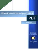 Denver Network Security Management Audit Report - Phase 1 FINAL 03-12-12