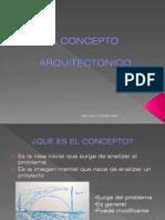 El Concepto Arquitectonico