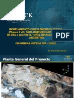 Modelm Caverna Tunel Chile - Argentina