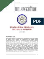 Español - Pratyahara, Dharana, Dhyana y Samadhi (Aleister Crowley)