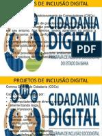PROJETOS DE INCLUSÃO DIGITAL