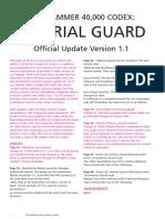 m2170011a Imperial Guard FAQ Version 1 1 January 2012