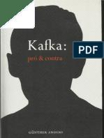 Gunther Anders - Kafka