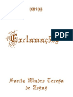 Exclamacoes de Santa Teresa