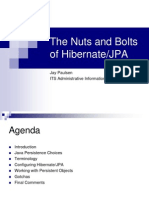 The Nuts and Bolts of Hibernate