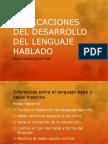 Explicaciones Del Desarrollo Del Lenguaje Hablado