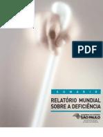Relatório Mundial sobre a Deficiência