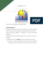 Proyecto 10 Diferentes formas de evaluacion usando la tecnologia