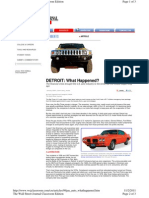 Auto Industry - WSJ