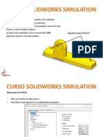 Curso Solidworks Simulation Ej 1