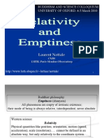 Relativity and Emptiness by Laurent Nottale - Oxford-4!3!10